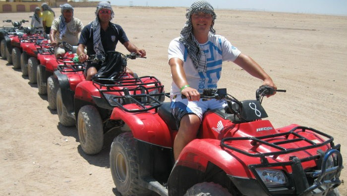 Giza Pyramids Dune Buggy Trip From Port Said