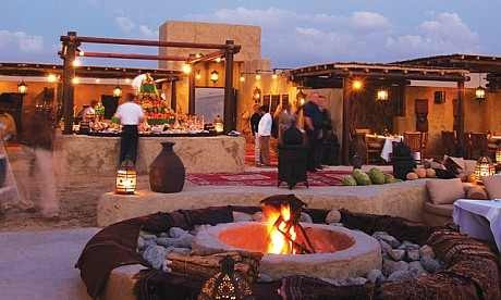 Book Bab Al Shams Dinner Itinerary