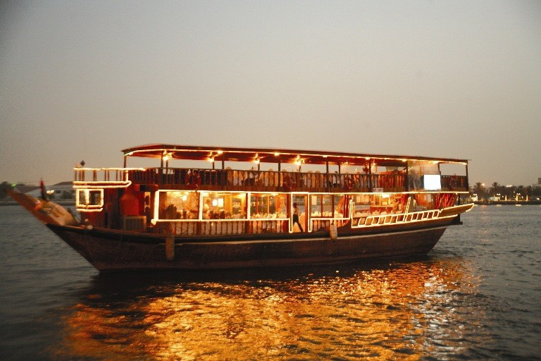 Book Dhow Dinner Cruise Abu Dhabi Itinerary