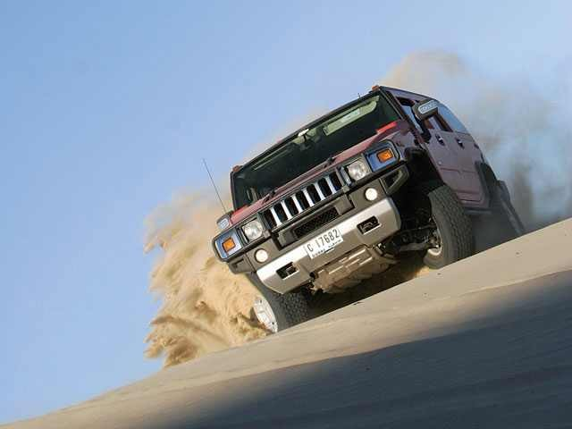 Book Dubai Hummer Safari Itinerary