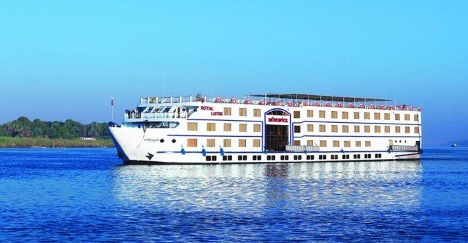 4 Day Movenpick Royal Lotus Aswan to Luxor Cruise