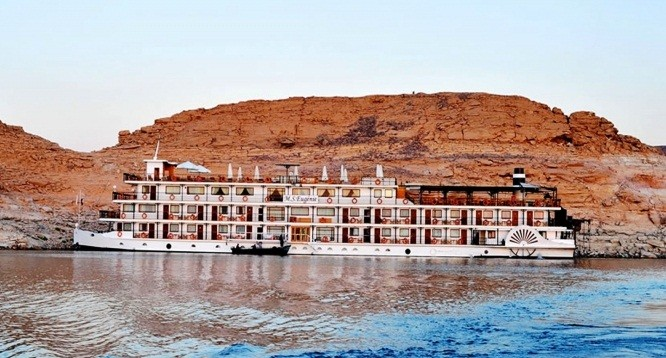 4 Day MS Eugenie Nile Cruise From Aswan to Abu Simbel