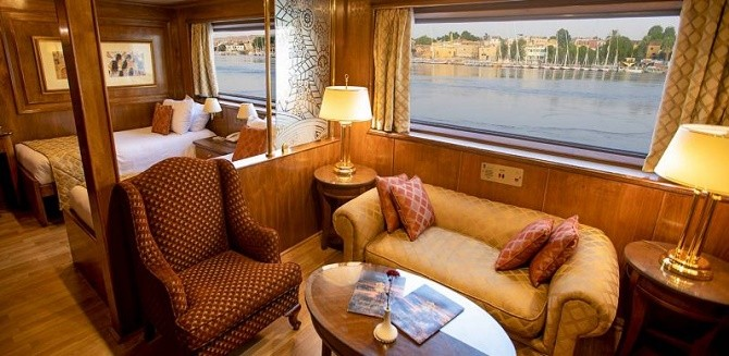 Book 4 Day Ms Salacia Nile Cruise Aswan to Luxor 2021